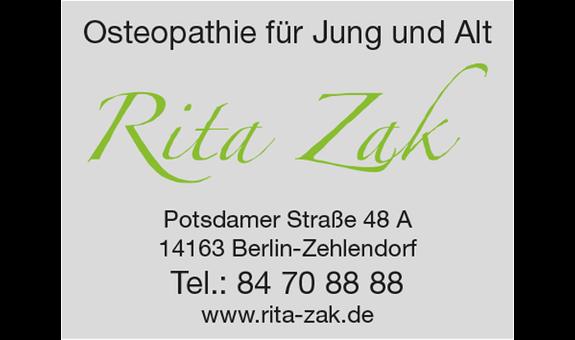 Logo von Zak Rita