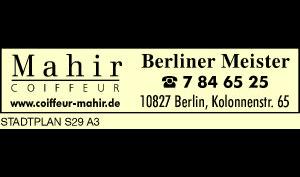 Logo von Mahir Coiffeur
