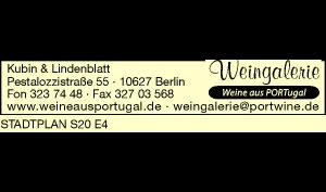 Logo von Weingalerie, Inh. Kubin & Lindenblatt