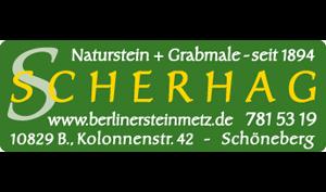 Logo von SCHERHAG Steinmetzbetrieb GmbH