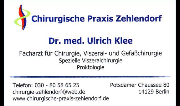 Logo von Klee Ulrich Dr. med