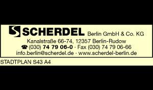 Logo von SCHERDEL Berlin GmbH & Co. KG