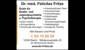 Logo von Fritze Felicitas Dr. med.