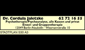 Logo von Jaletzke Cordula Dr.