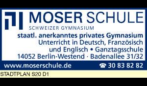 Logo von Moser Schule Schweizer Gymnasium