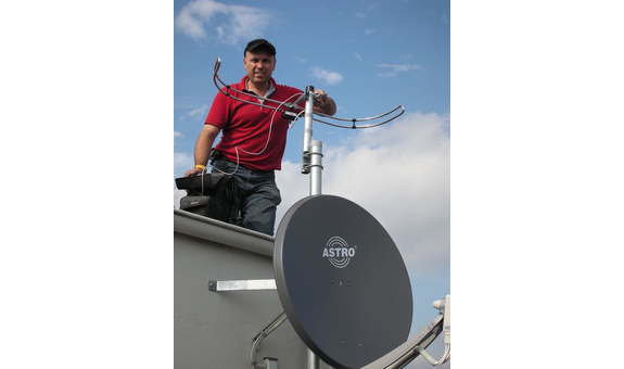 Antennen-Anlagen cosmoSAT
