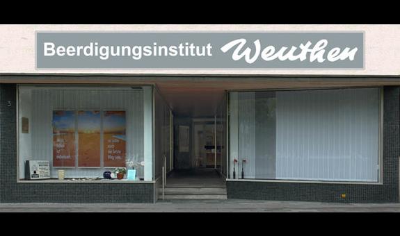 Logo von Bestattungen Weuthen