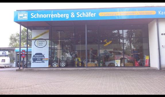 Logo von Autolackiererei Schnorrenberg & Schäfer GbR