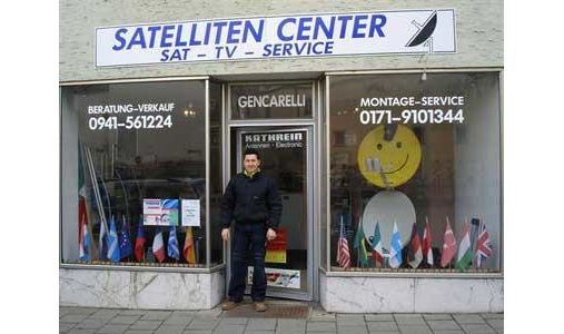 Satelliten-Center Gencarelli