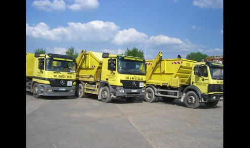 CONTAINERDIENST-STOCKSTADT GmbH & Co. KG, Transporte
