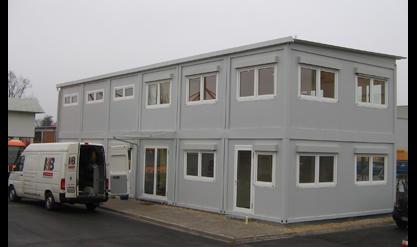 Bayer Kaspar e.K., Wohn-Büro u. Lagercontainer