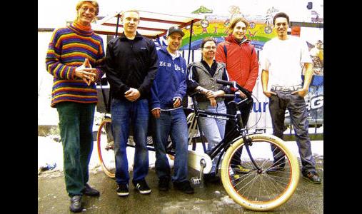 Fahrradgeschäft Ride-on-a-Rainbow