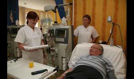 Dialysezentrum Regenstauf im Gesundheitszentrum Eckert