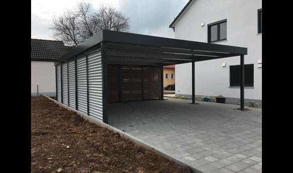 Bild 6 Gartenbau Carport Garagen Schmidt In Stein