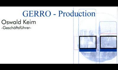 Gerro Production GmbH