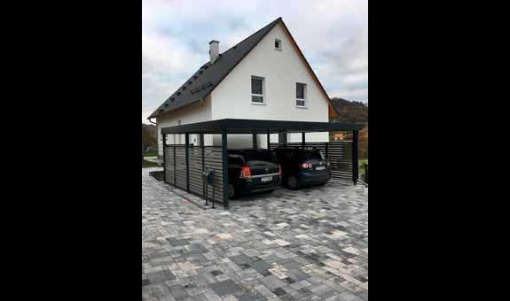 Bild 3 Gartenbau Carport Garagen Schmidt In Stein