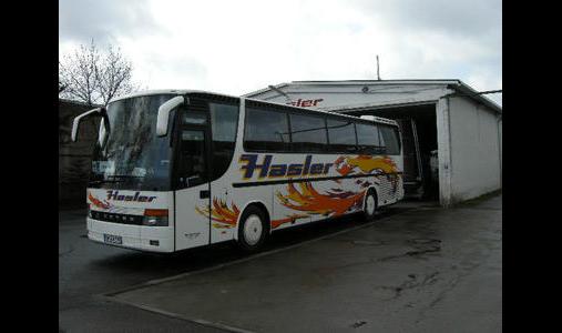 Hasler - Reisen