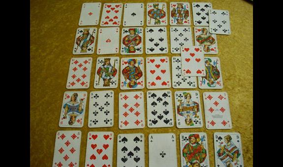 Meiner Helga Kartenlegen