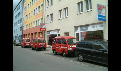 Radio-Eck am Aufseßplatz
