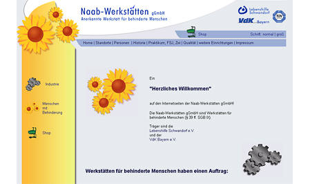 Naab-Werkstätten gGmbH Werkstatt für beh. Menschen