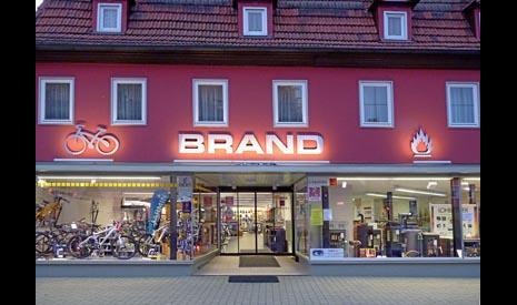 Fahrrad Bikeworld BRAND GmbH