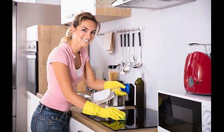 Logo von Reinigungsservice-Weber