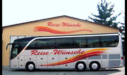 Reise-Wünsche Omnibusbetrieb