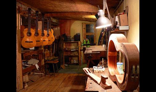 Gemeinschaftswerkstatt für Geigen- und Gitarrenbau Kim Baker & Jost von Huene