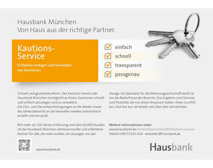 Kundenbild klein 9 Hausbank München eG - Bank für Haus- und Grundbesitz