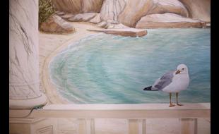 Wandmalerei Colourgames Konstanze Lohrmann