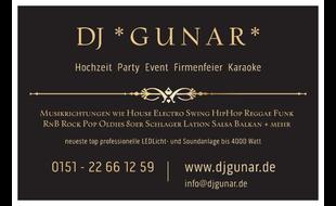 DJ Gunar Ihr Partyspezialist