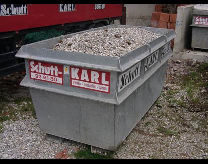 Kundenbild klein 2 Abfallentsorgung Schutt - Karl - GmbH