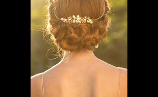 Weißes Glück Brautmode