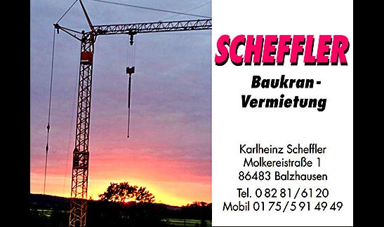 Scheffler Baukranvermietung GmbH