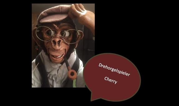Drehorgelspieler Cherry