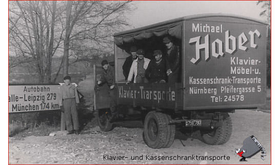 Körber Stefan Klavier- und Kassenschrank Transporte