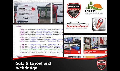 Radebeuler Machwerk - vormals Lissowski Werbung -