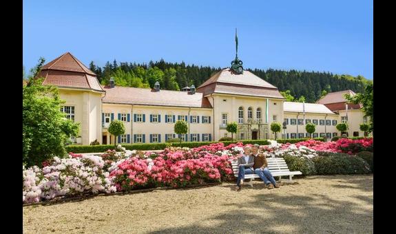 Soletherme & Saunawelt, Badelandschaft im Albertbad Bad Elster