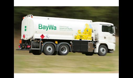 BayWa AG, Energie/Mineralöle