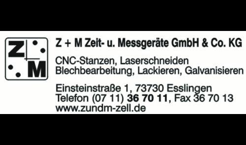 Logo von Z+M Zeit- u. Messgeräte GmbH & Co. KG
