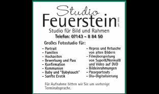 Feuerstein Fotostudio