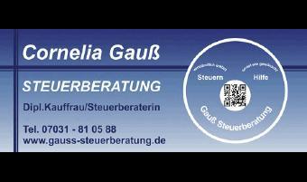 Gauß Cornelia Steuerberaterin