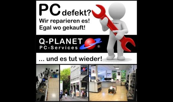 Logo von Computer-Reparatur Q-PLANET
