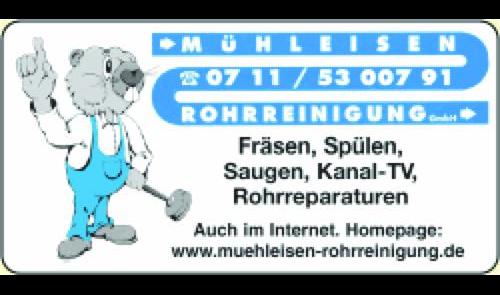 Logo von Mühleisen Rohrreinigung GmbH