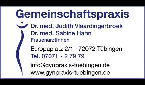 Gemeinschaftspraxis Dres.med. Judith Vlaardingerbroek & Sabine Hahn