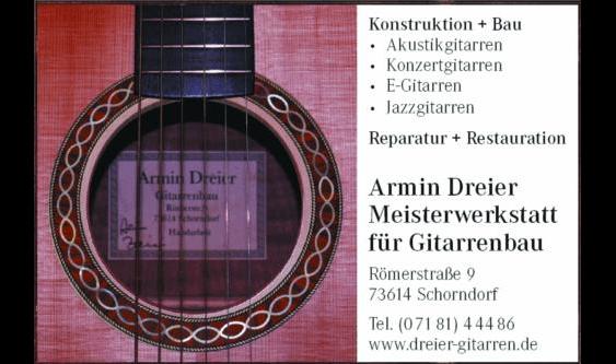 Dreier Armin Gitarrenbau