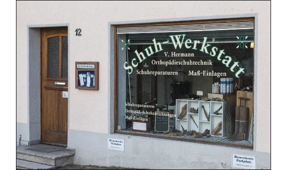 Logo von Schuh-Werkstatt  Vera Hermann