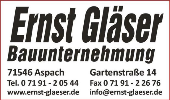 Gläser Ernst