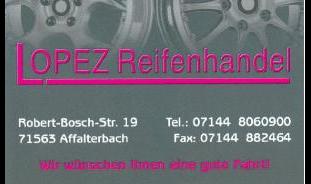 Lopez Reifenhandel