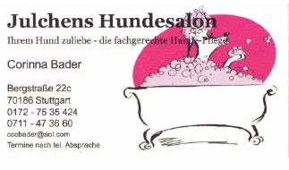 Bader Corinna Julchens Hundesalon